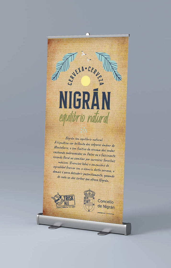 Mockup - Rollup cervexa nigran